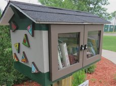 Little free library Baltimore