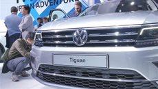 Новый Volkswagen Tiguan.
