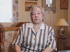 Вдова Мария Петровна Третьяк рассказывает историю своей жизни сотрудникам «Союз Маринс Групп»