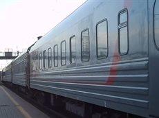 ЧС4т-312 с №100 поезд Москва-Владивосток